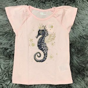 Epic Threads | Girl's T-shirt | Seahorse| Pink